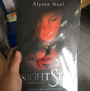 Night Star by Alyson Noel The Immortals series english book