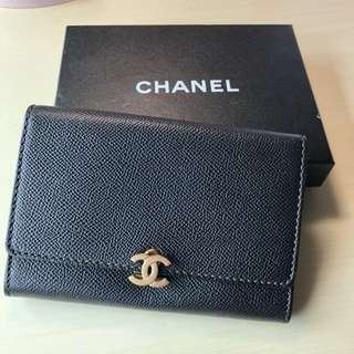 CHANEL VINTAGE CARD WALLET