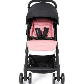 Mothercare ride stroller/ pram - Pink (cabin size carry)