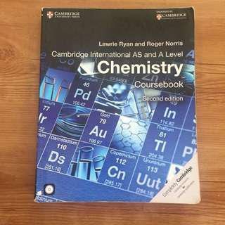Cambridge A AS Level CHEMISTRY