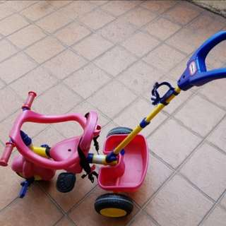 Little Tikes tricycle 4 in 1