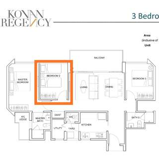 Condo Rent/Common Room/Fully Furniture/Perfer Chinese