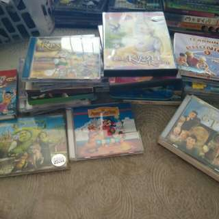 Vcd offer! More than 20vcd for kids