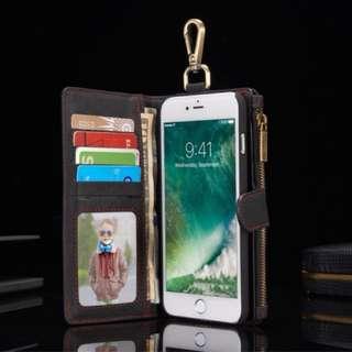 Iphone 銀包機套2 In 1😊678X 代提供