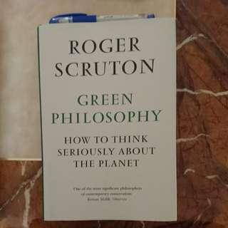 Roger Scruton - Green Philosophy