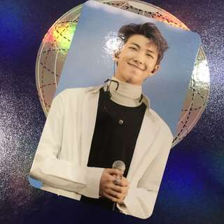 WTT BTS Wings Tour DVD Photocard RM