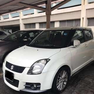 Weekend Rent Suzuki Swift Sport