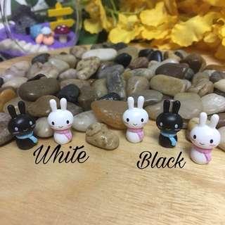 Terrarium accessories miniature bunny rabbit
