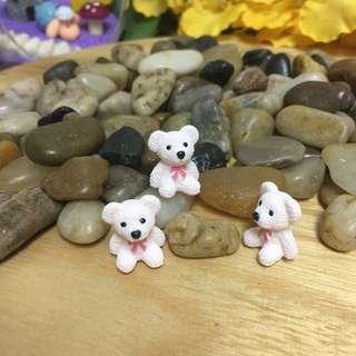 Terrarium accessories miniature bear