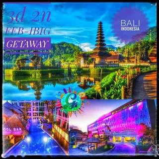 FEB IBIG intl Getaway 3d 2n ULTIMATE BALI Indonesia Package