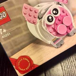 全新[特別版]LEGO豬仔錢罌