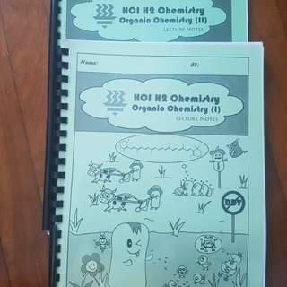 Hwa Chong H2 Organic Chemistry 1&2 Textbooks (first copy)