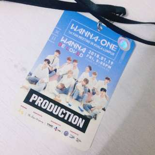 WANNA ONE Media Pass