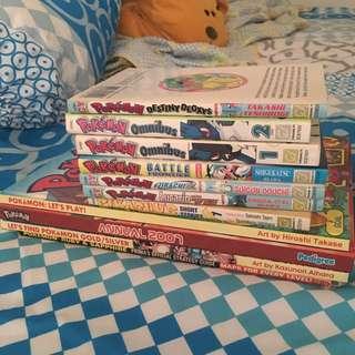 Pokémon book collection