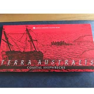 First day cover: Terra Australia Coastal Shipwrecks