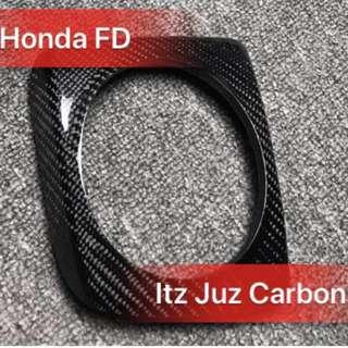 (Ready stock)Honda FD Carbon Fibre gear panel