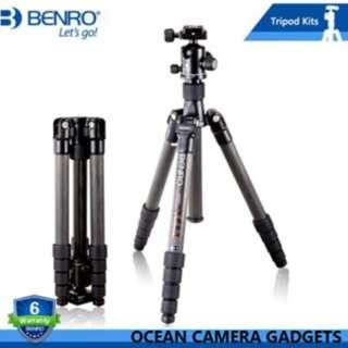 Benro C2690TB1 Travel Angel Professional Carbon Fiber Tripod For DSLR and mirroless camera