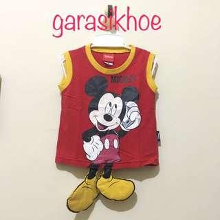 "THAI Serba 50 - Top Kids ""Full Mickey"" - Baju Anak"