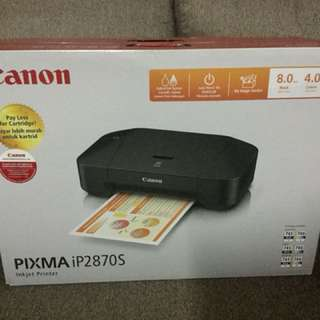 Brandnew Canon Printer with FREE Ink