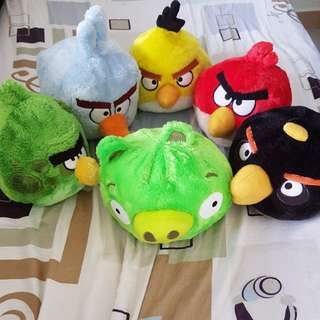 Changi Airport Angry Birds Soft Toy