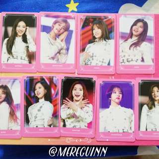Twice land : The OP - Photocard