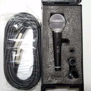 Samson SAR21S Single Mic (with carrying case, XLR cable and mic clip)