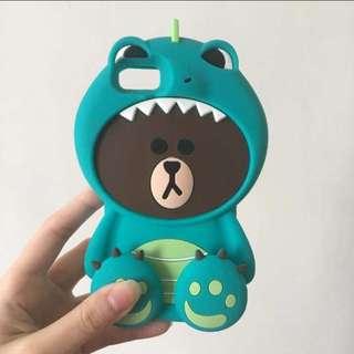 Dino brown IPhone 6s 機殼