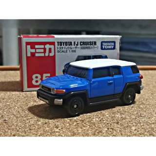 Tomica 85 - Toyota FT-Cruiser (First Release)