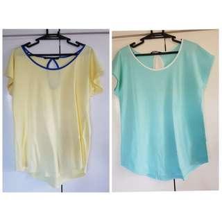 For Me blouse bundle (S-M)