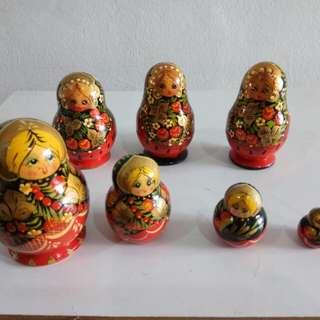 Russian 4pcs doll