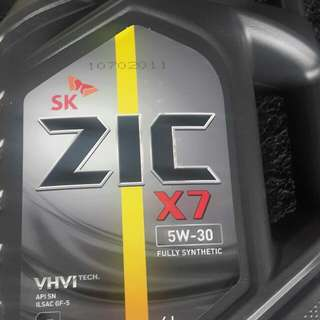 4L ZIC X7 5W-30 Fully Synthetic Engine Oil