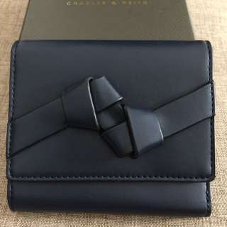 Charles & Keith wallet navy