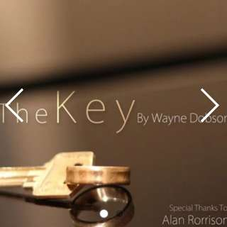 The Key by Wayne Dobson (Gimmick and Online Instruction)