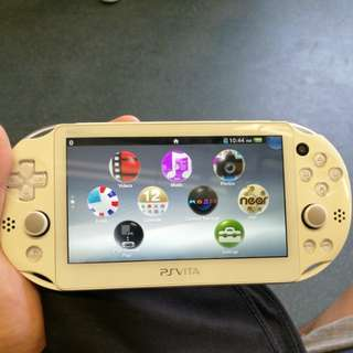 Ps Vita with 12 games