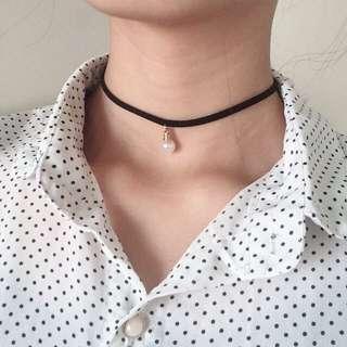 小珍珠頸鍊