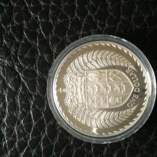 新西蘭銀幣
