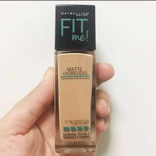 MAYBELLINE FIT ME MATTE + PORELESS FOUNDATION 130 BUFF BEIGE