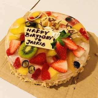 雜果果涷蛋糕