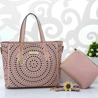 Marc Jacobs Tote Bag Pink Color
