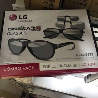 NEW LG 3D Cinema Glasses (AG-F314)