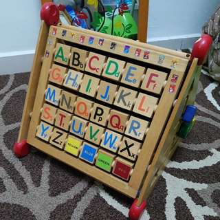 Moving Out! Wooden educational toy for kids