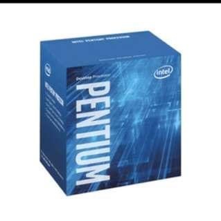 Intel Pentium G4400 processor Dual core