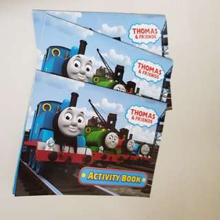 Thomas The Train Activity Books
