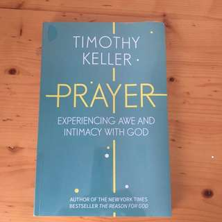 Prayer by Timothy Keller (NEW/ NO DEFECTS)
