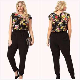 TOP AND PANTS PLUS SIZE