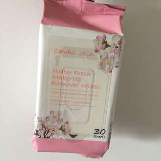 Water Fresh Make Up Remover Wipes
