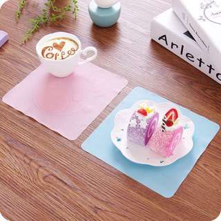 Korean Pastel Multifunctional Silicone Placemat Wrap Cover
