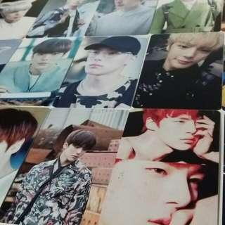 Monsta X Minhyuk photocards kpop