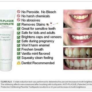 Anti Plaque Whitening Toothpaste