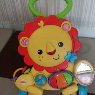 Push walker lion fisher price